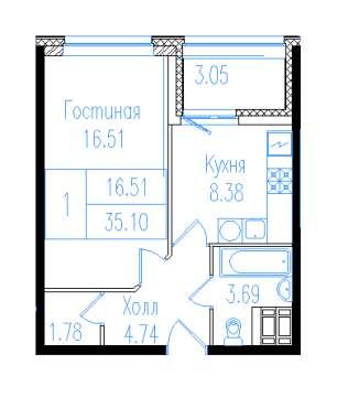 ЖК Дом-Мегалит на Неве